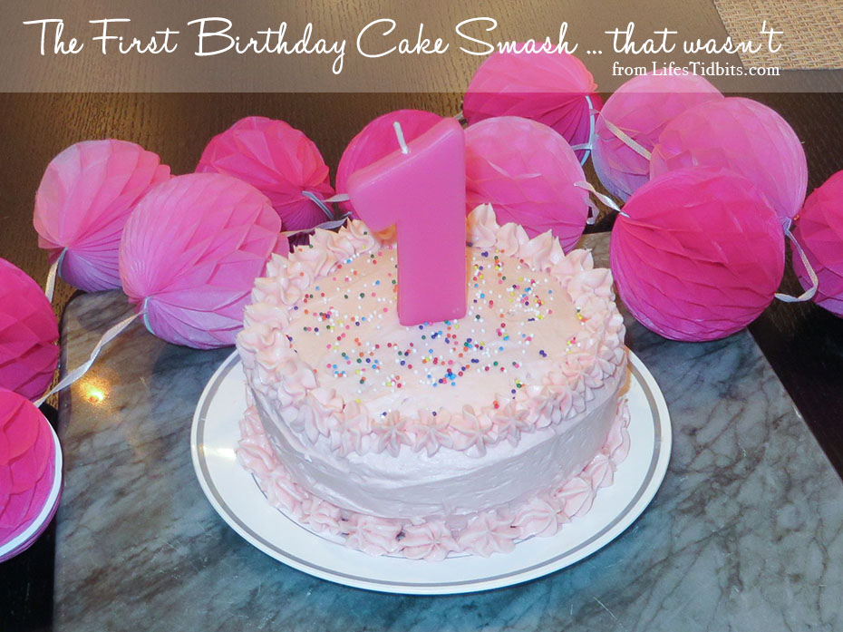 First Birthday Cake Smash |  Life's Tidbits