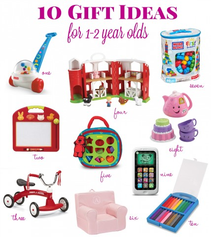 Christmas, Hanukkah and birthday gift ideas for a toddler.  Perfect for 1-2 year olds  |  Life's Tidbits