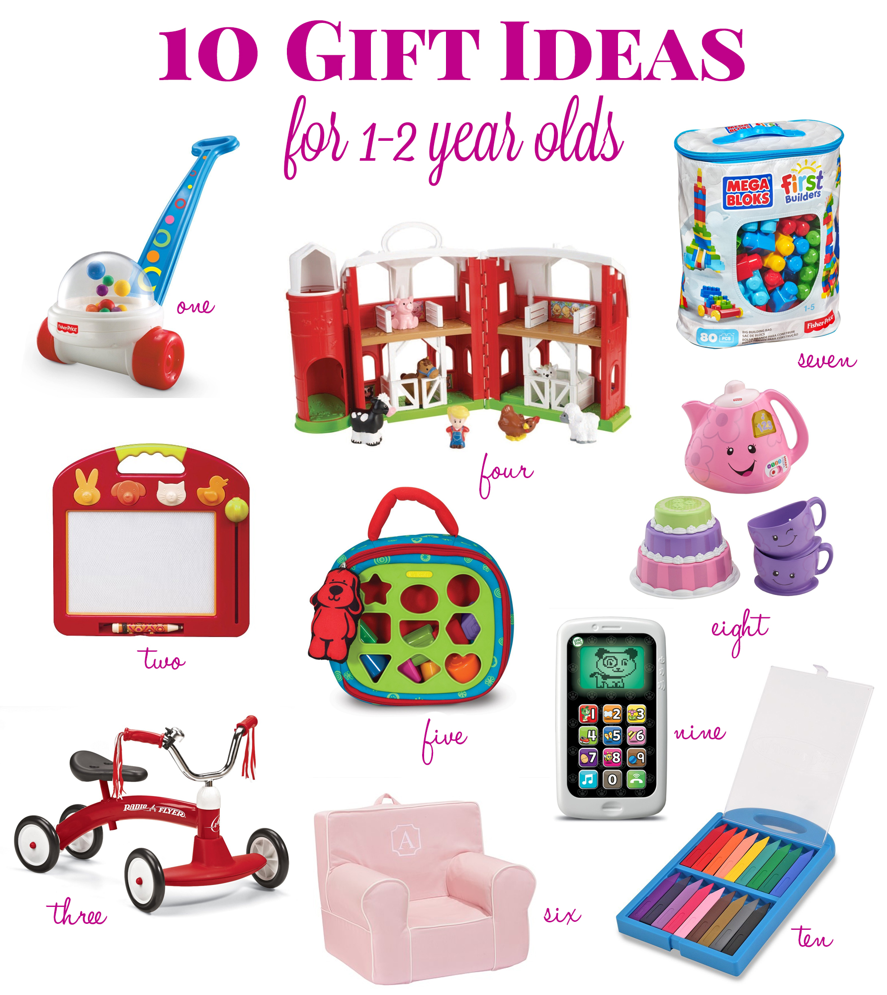 Gift Ideas for a 1 Year Old Life s Tidbits