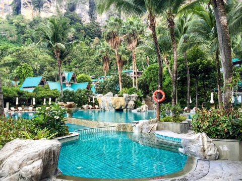 Centara Grand Beach Resort & Villas Krabi in Ao Nang, Thailand | Pool View | Life's Tidbits