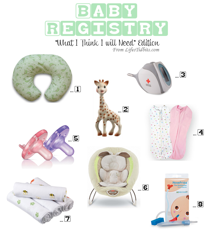 Baby Registry Must Haves | Life's Tidbits