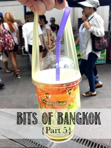 Tidbits about living in Bangkok as an Expat from America. | Life's Tidbits