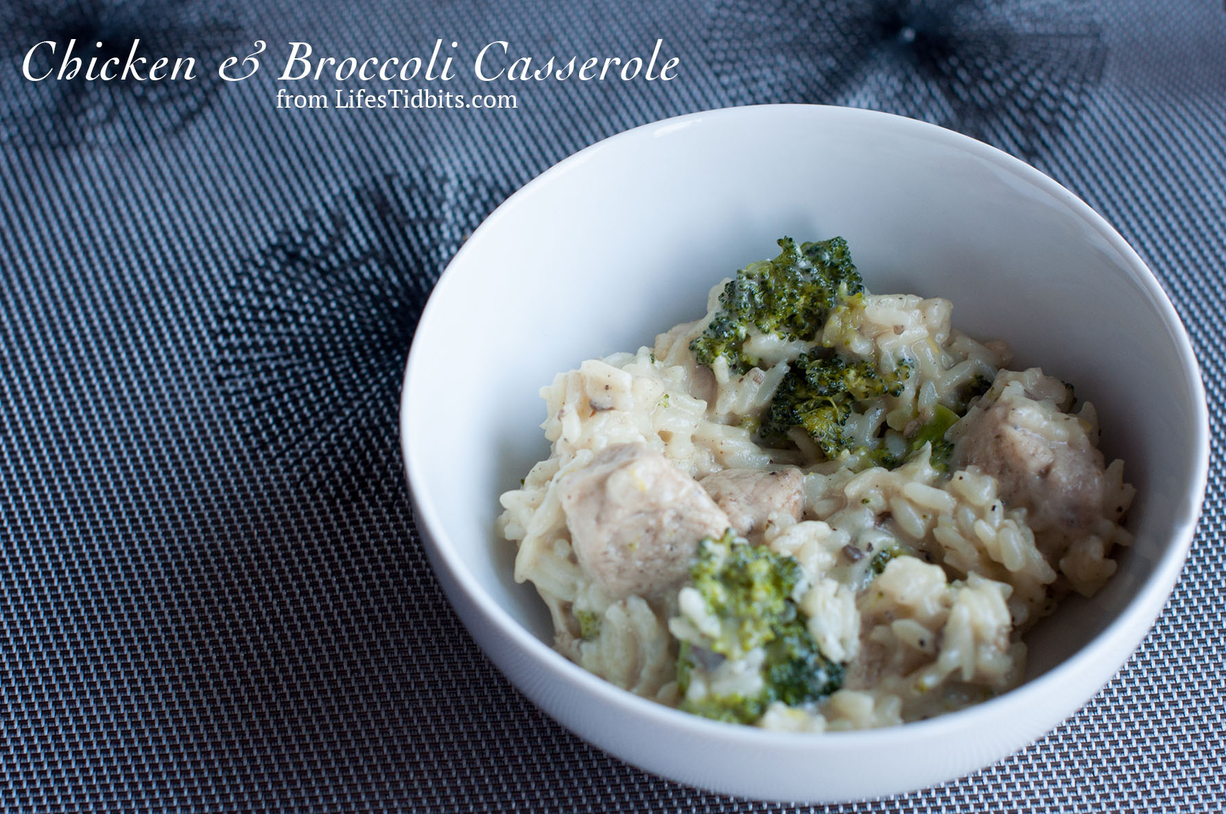 Chicken & Broccoli Casserole dinner recipe | Life's Tidbits