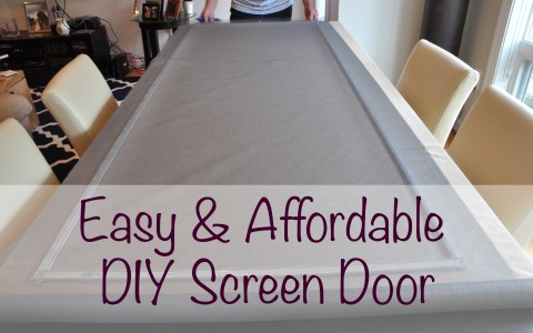 Home improvement DIY Screen Door | Life's Tidbits