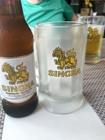 Singha Beer in Bangkok, Thailand | Life's Tidbits