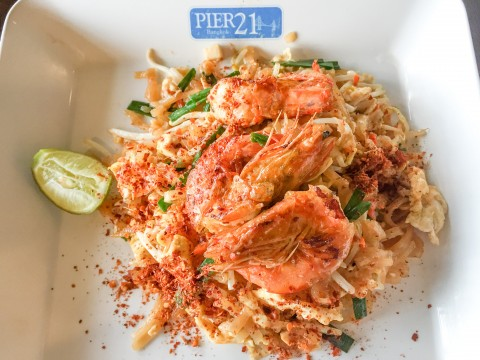 Authentic Thai Prawns and Noodles | Pier 21 at Terminal 21 in Bangkok | Life's Tidbits