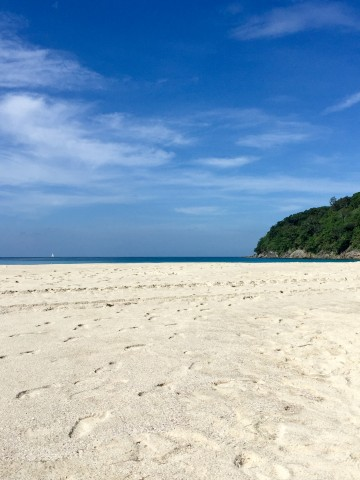 Beach at the Le Meridien Beach Resort in Phuket, Thailand | Life's Tidbits