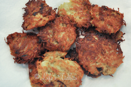 Potato Latkes Recipe, holiday recipe, hanukkah | Life's Tidbits