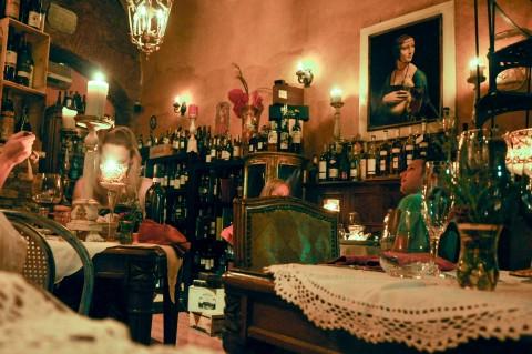 Restaurant Romantico Rome, Italy