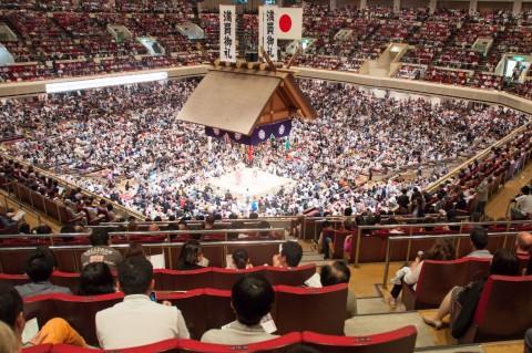 Ryogoku Kokugikan - Sumo Wrestling in Tokyo Japan
