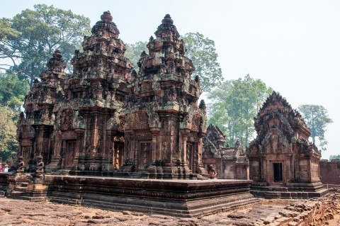 Things to do in Siem Reap, Cambodia - Banteay Srei temple. 2 day travel guide of Cambodia | Life's Tidbits