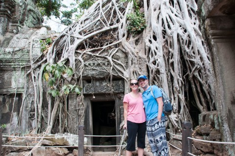 Ta Prohm temple featured in Lara Croft: Tomb Raider - 2 Day travel guide of Siem Reap, Cambodia | Life's Tidbits