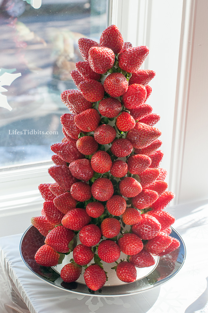 DIY Strawberry Tower | Life's Tidbits