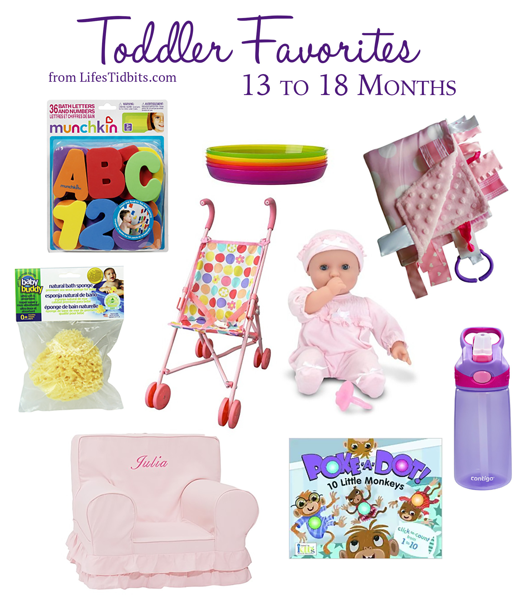 Toddler Favorites Months 13 to 18  |  Life's Tidbits