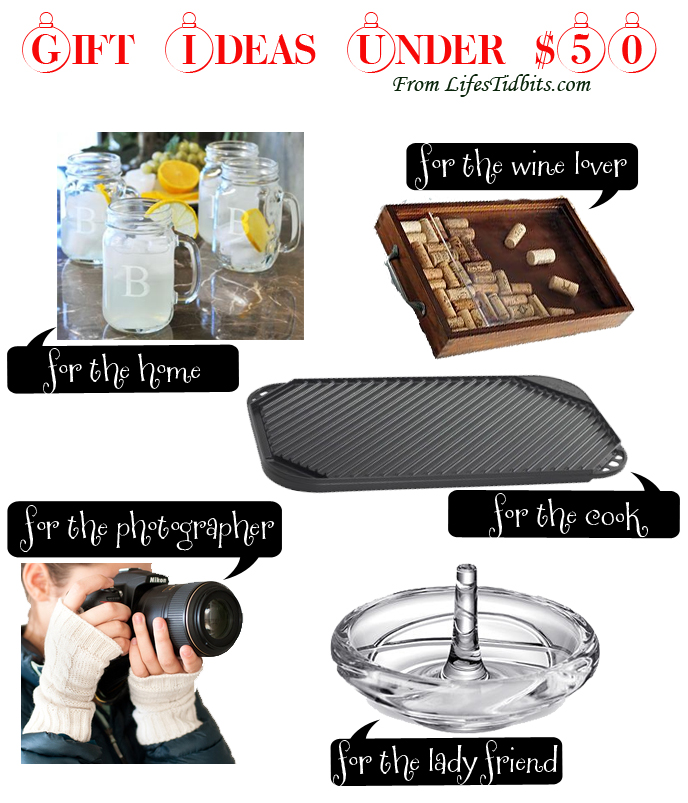 Gift ideas under $50  | Life's Tidbits