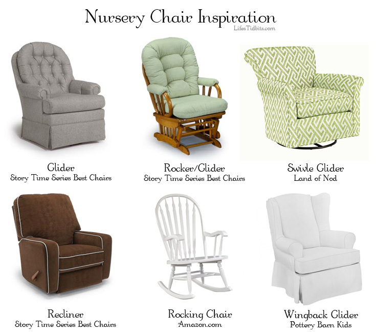nursery glider rocking chair inspiration lifeu0027s tidbits - Gliding Rocking Chair